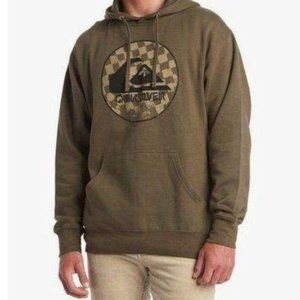 NEW QUIKSILVER E WITHOUT PARALLEL HOODIE
